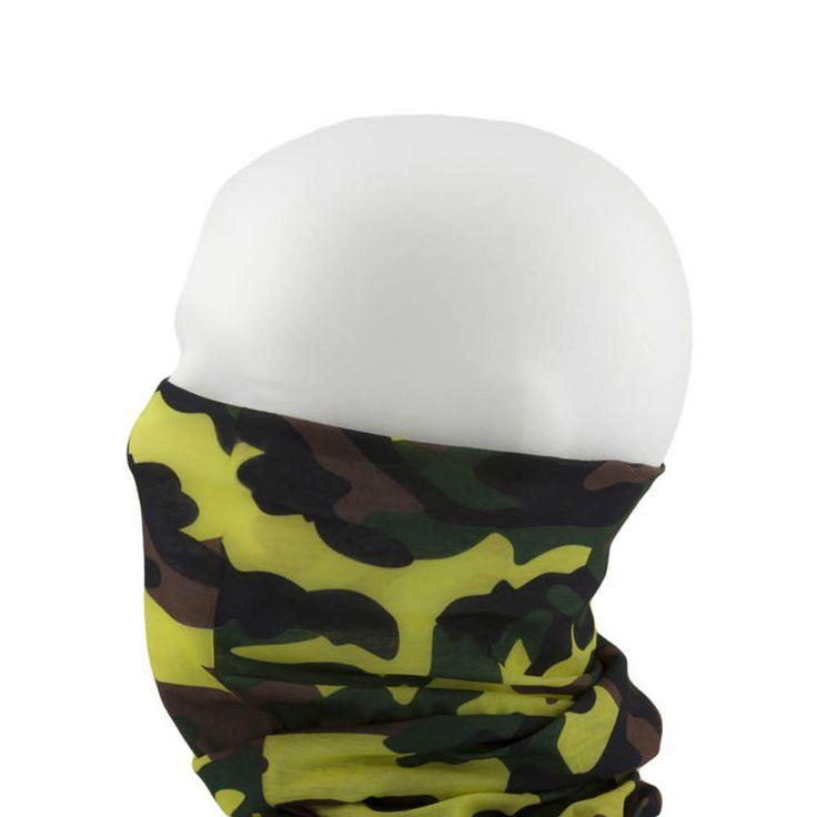 Multifunktionstuch / Schlauchtuch / Halstuch - Camouflage 2 in Bekleidung Accessoire  • Schals & Tücher • Multifunktionstücher
