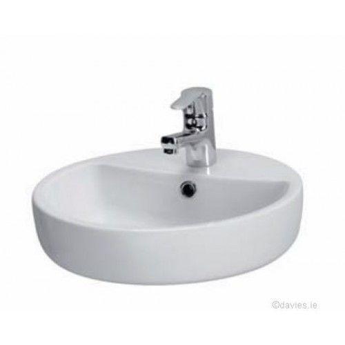 Bathroom Basin Caspia 44cm Ring