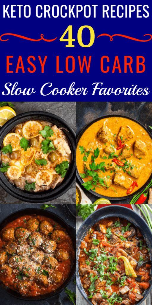 40 Recetas Keto Crockpot! Encontrar recetas de keto de cocción lenta para la cena …