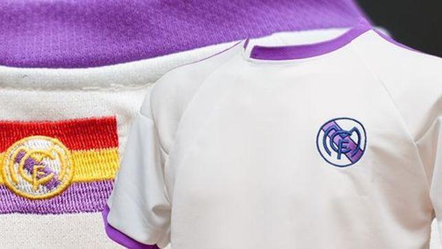 Un tribunal falla contra el Real Madrid y autoriza la versión republicana de su camiseta. Camiseta del equipo ficticio Madrid Club de Fútbol