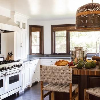 Mosaic Cooktop Backsplash, Eclectic, kitchen, Reath Design