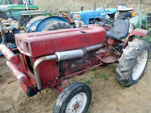International 284 Tractor Parts : International tractor salvaged for used parts this