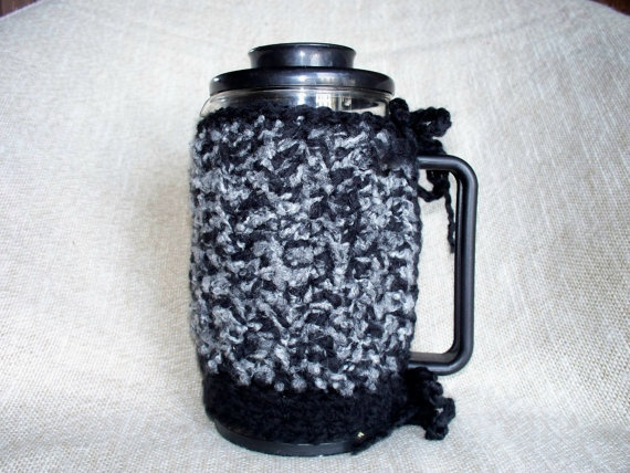 French Press Cozy Coffee Bodum by soulybarb on Etsy,