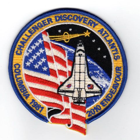space shuttle mission badges - photo #15