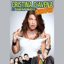 Cristina D'Avena and Gem Boy Show - Con grande sforzo i Gem Boy si vestiranno eleganti, non canteranno Orgia Cartoon, ma soprattutto non diranno parolacce! Tutto questo per realizzare il loro grande sogno: suonare e accompagnare nelle sue canzoni il loro mito: Cristina D'Avena! Se ...
