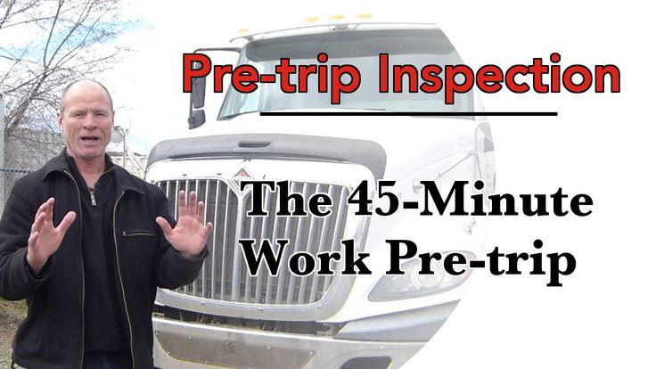 How to do a CDL Pre Trip Inspection | The Work Pre-Trip