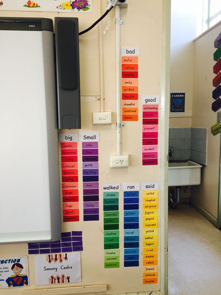 Synonyms word wall