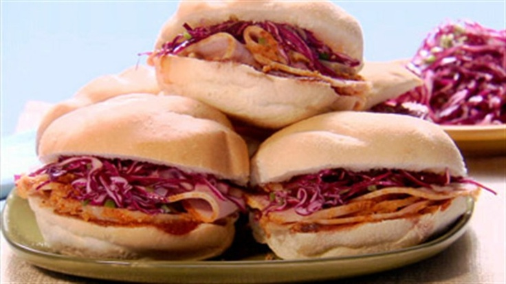 Peameal Sandwiches with Coleslaw   Recipe   Sandwiches, Coleslaw and ...