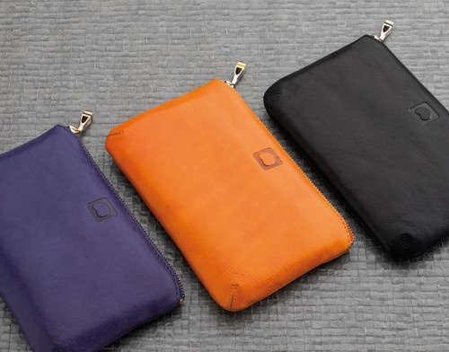DELSEY: Small leather goods - Délicatesse #pouch #yellow #black #purple #gift #Delsey
