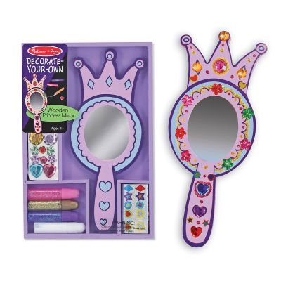Wooden Princess Mirror - DYO