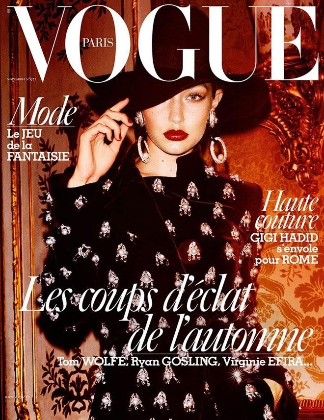f2642b8da31b8 Gigi Hadid   Gigi Hadid   Pinterest   Vogue, Moda and Revista de moda