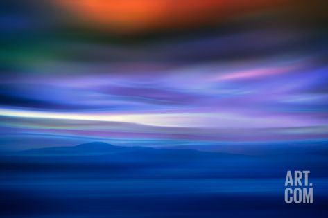 Island in the Mist Photographic Print by Ursula Abresch at Art.com