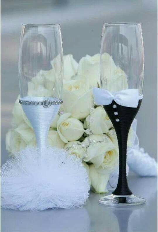 716 best inexpensive party decor images on pinterest dollar tree champagne flutes for me and my mr on our day engraving the mr solutioingenieria Choice Image
