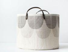 Bucket - Cream Layered Scallop