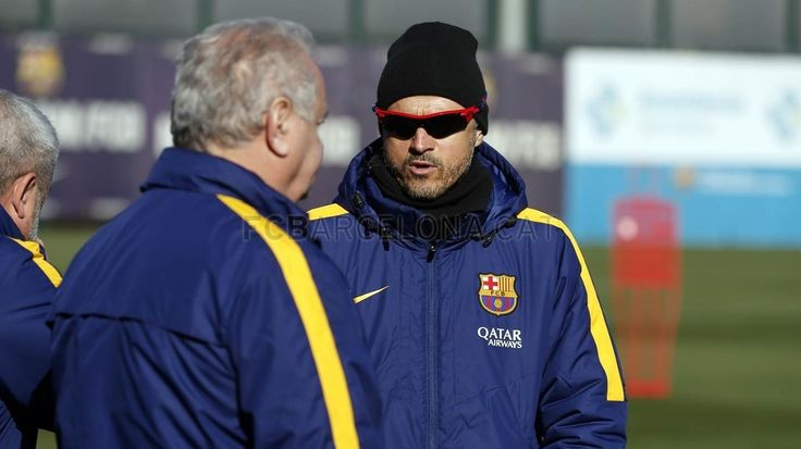 "Training session (19/01/16) [Luis Enrique] : ""No two games are the same"" ""We're used to those situations but that doesn't mean it doesn't affect you."" ""We need to use it as a stimulation. The more heated the atmosphere in San Mamés, the more we need to turn it around for us."" ""In Brazil he already played in high-pressure moments and was subject to aggressive defending."" 