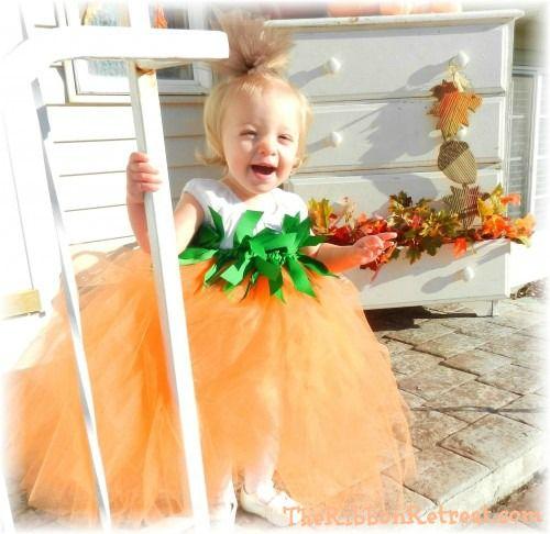 Pumpkin Tutu Costume Tutorial