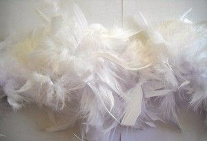 Use  White feather boas for costumes, trimming, plays, dance recitals, and more. Flame retardant.