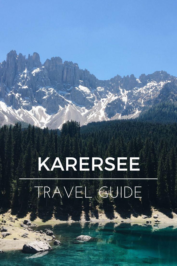 Ein Reisebericht über den Karersee in Südtirol