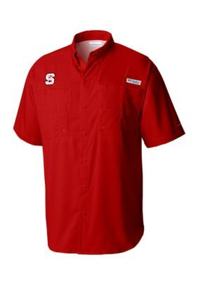 Outdoor Custom Sportswear Nc State Tamiami Shirt - Intense Red - 2Xl