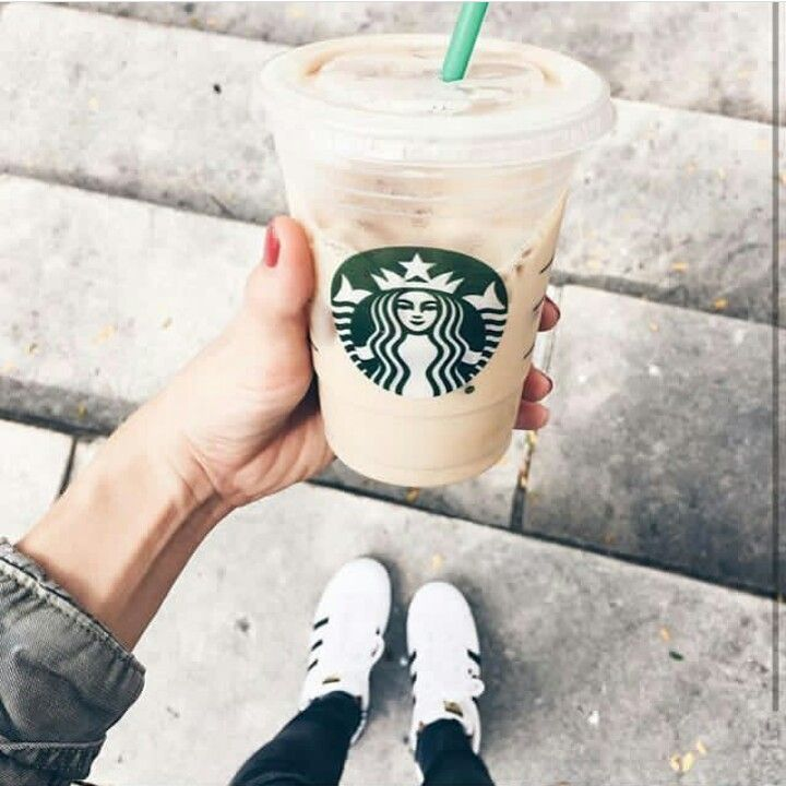 Starbucks & Adidas superstars