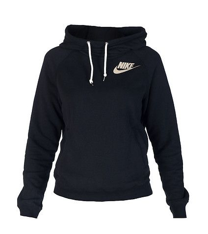 NIKE Pullover hoodie Long sleeves Soft inner fleece for comfort Single front kangaroo pocket Adjustable drawstring on good NIKE logo on chest