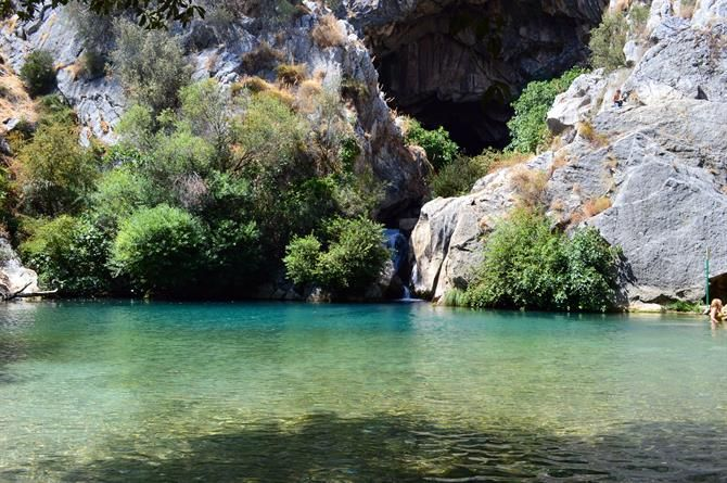 Cueva del Gato, Benojan, Ronda - Andalousie (Espagne)