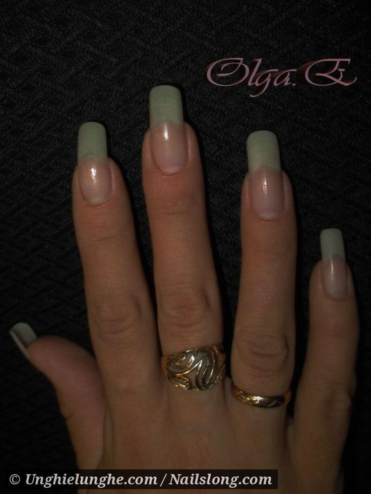 78 best Long Natural Nails images on Pinterest | Long nails, Long ...