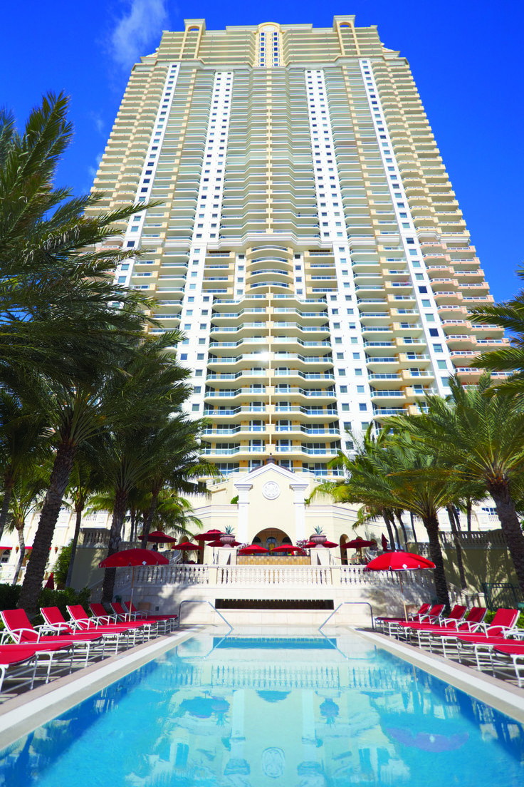 Acqualina Resort And Spa Offers Four Incredible Swimming Pools For Guests The Family Beach Club Pool S Only Tranquility Exciting