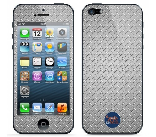 You'll fee like it is a real #metal on your #iPhone5 with this #original #skin ;)