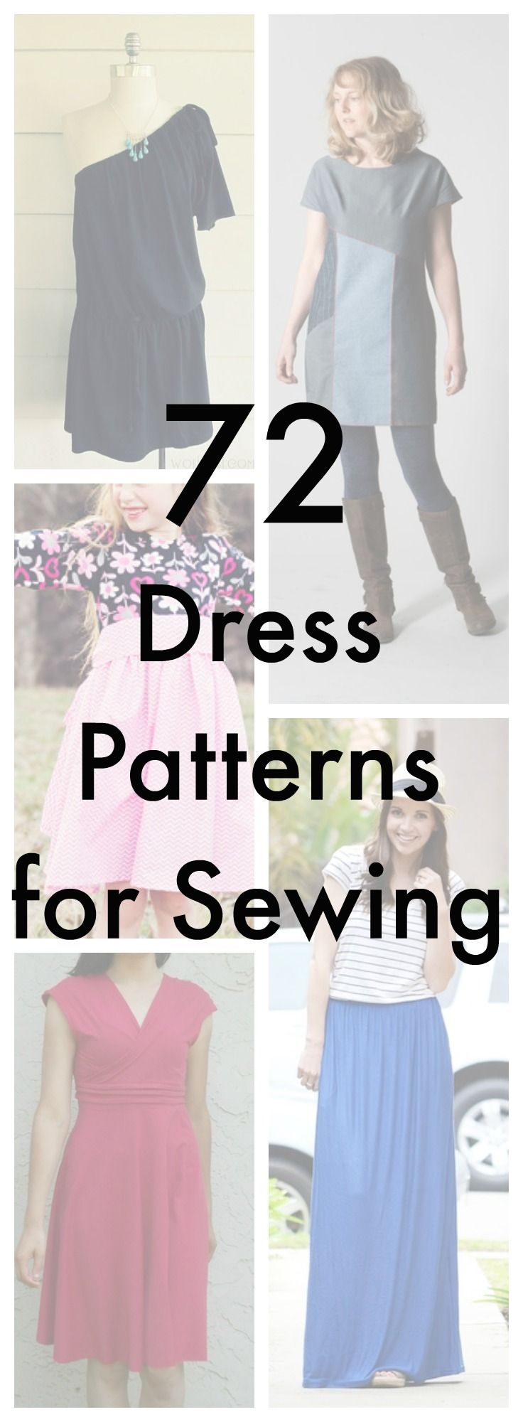 Dress Patterns for Sewing + New Free Dress Patterns | AllFreeSewing.com