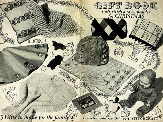 RARE Original Vintage 1950s STITCHCRAFT 'Christmas'