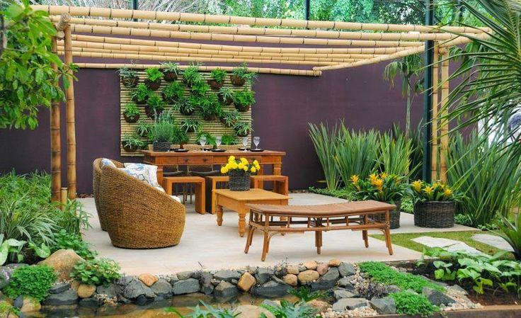 13 mejores im genes sobre jardin en pinterest cadenas de - Como decorar un patio ...