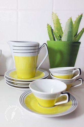 marchewkowa, blog, vintage, porcelana, ceramika, new look, chodzież, w-wawel, 50s, 60s, polish porcelain, new look
