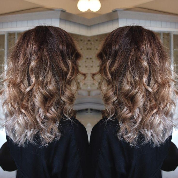 Ljusbrun ask hårfärg