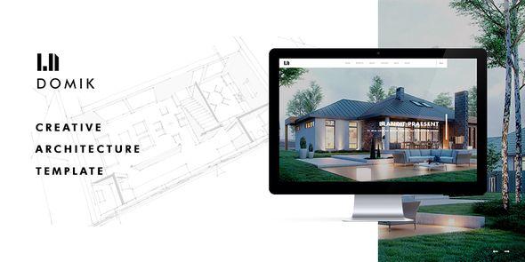 wpthemeclub: Domik - Creative Responsive Architecture WP Theme