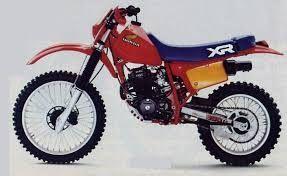 1982 Honda xr 350 R Bought in 1990