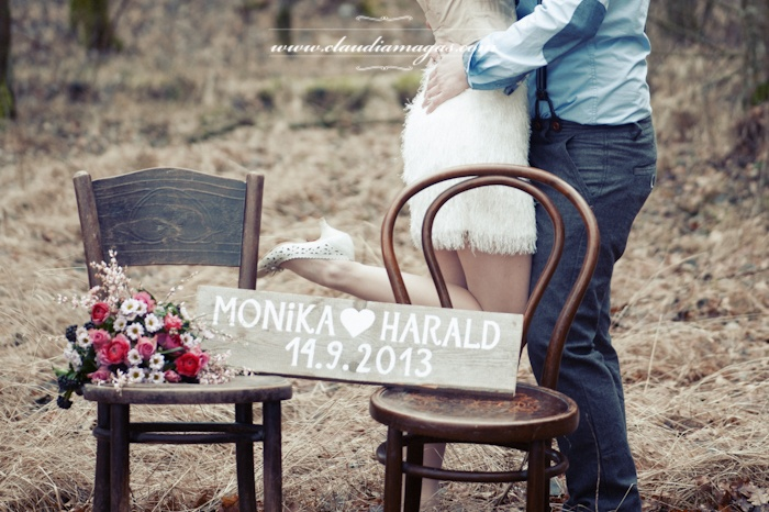 save the date photo idea wedding photography austria by Ladies & Lord