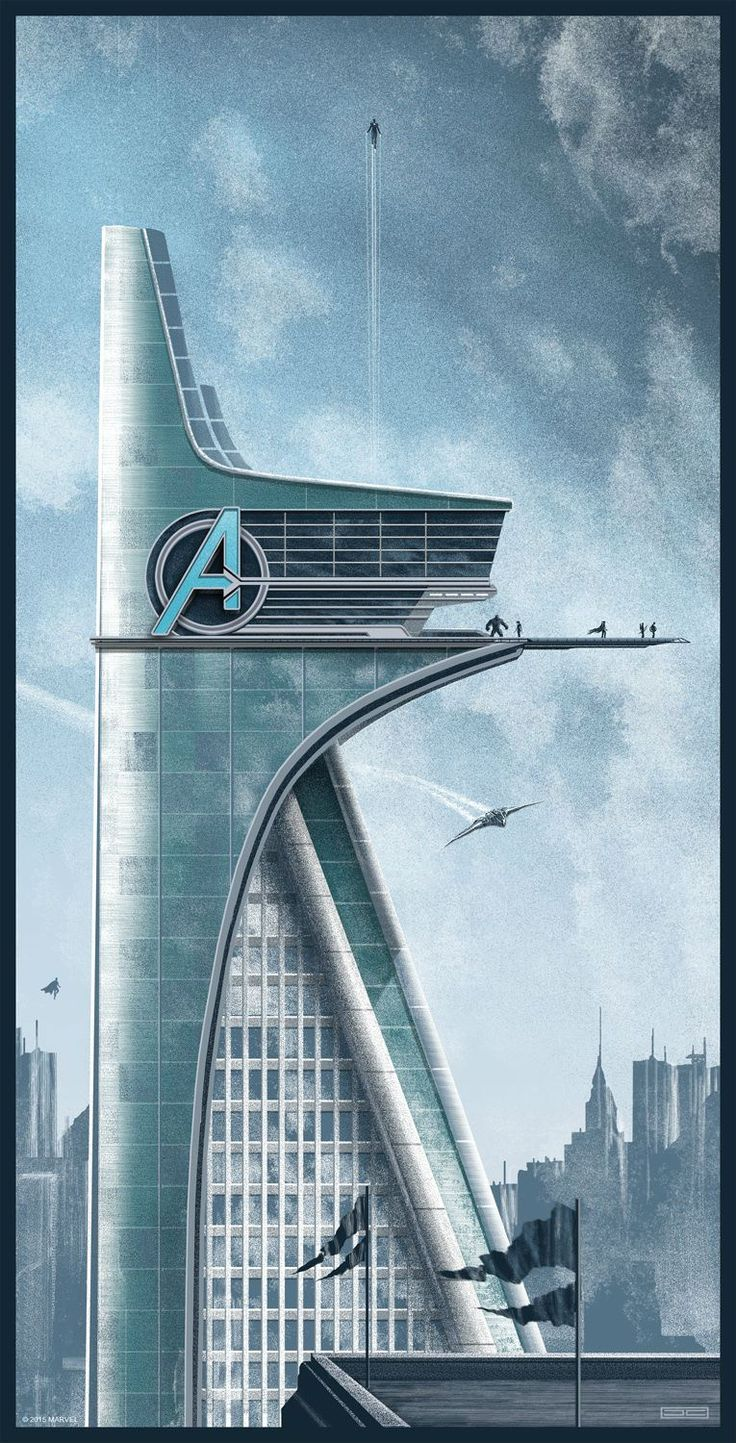 avengers tower age of ultron - Google Search