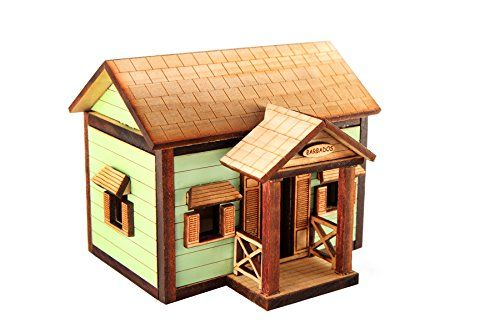 Barbados Chattel House 4 Basic with Porch- Replica Souvenir (Blue) Piece of Barbados http://www.amazon.com/dp/B00PIU2VGS/ref=cm_sw_r_pi_dp_i6XZwb1YW7YVJ