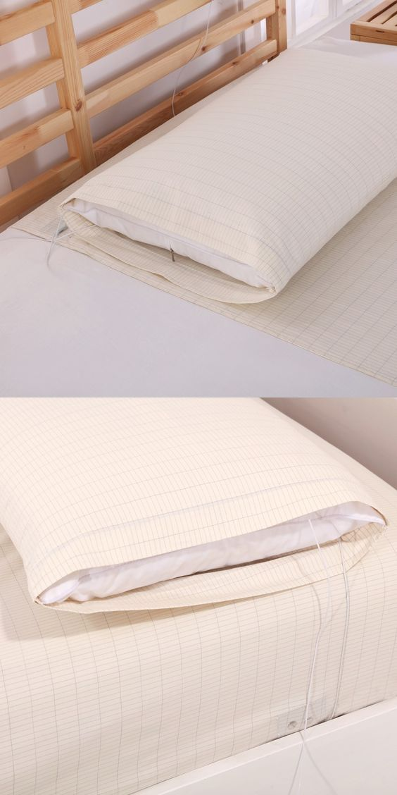 Have You Ever Heard Of Sleeping Grounded In Grounded Conductive Bed Sheets?  Click Here To