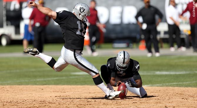 100 Days of 100 Jersey Numbers - 11,K Sebastian Janikowski is the all-time leading scorer in Raiders history.
