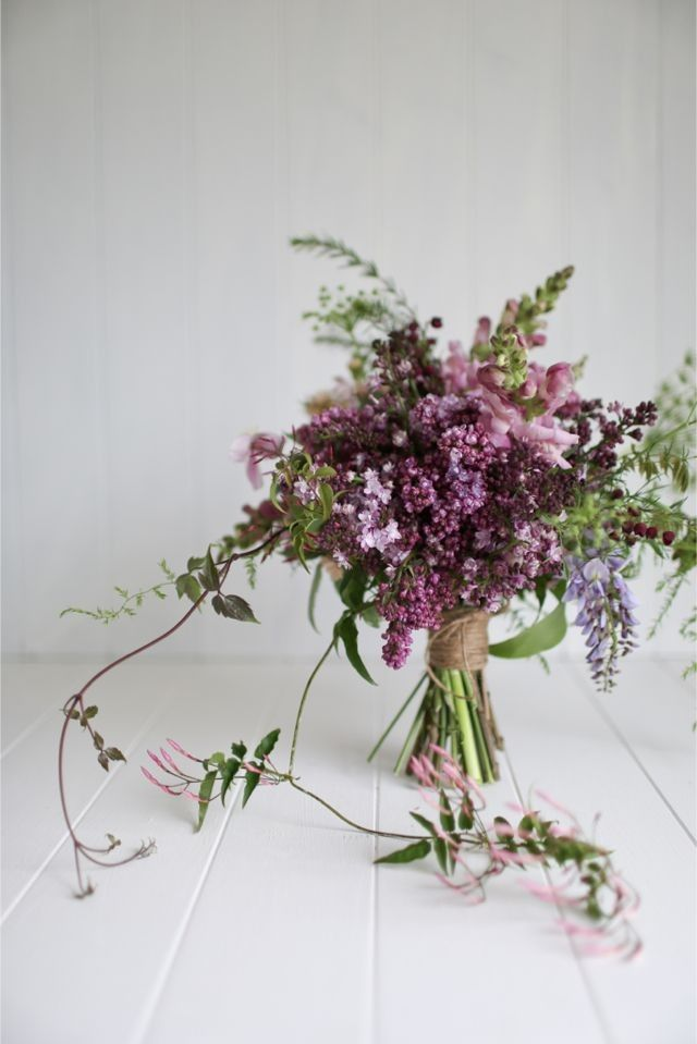 Expert Advice, Foraged Wedding Florals, lilacs by Leaf anf Honey via Magnolia Rouge