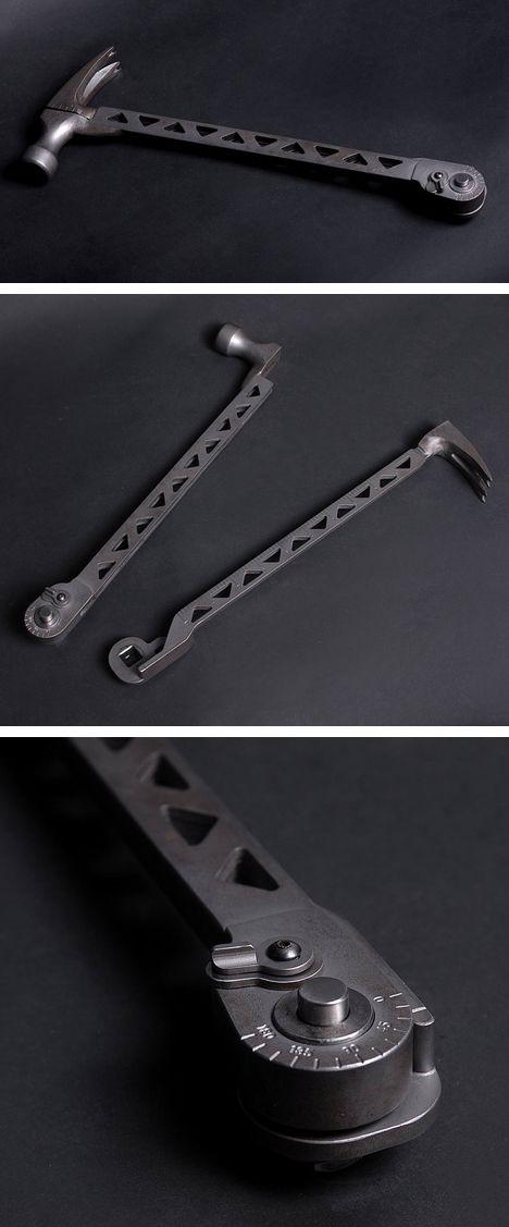 Cole-Bar Hammer - multi-tool design