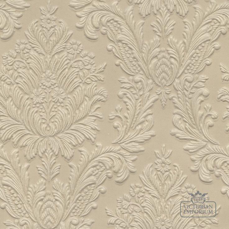 Buy lincrusta wallpaper anaglypta and lincrusta wallpaper 1 roll of lincrusta paper incorporating large flower and leaf design