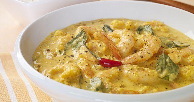 Curry de crevettes, une recette CuisineAZ