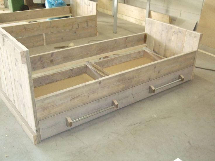 20 beste afbeeldingen over smart kidsroom op pinterest for Bed van steigerhout maken