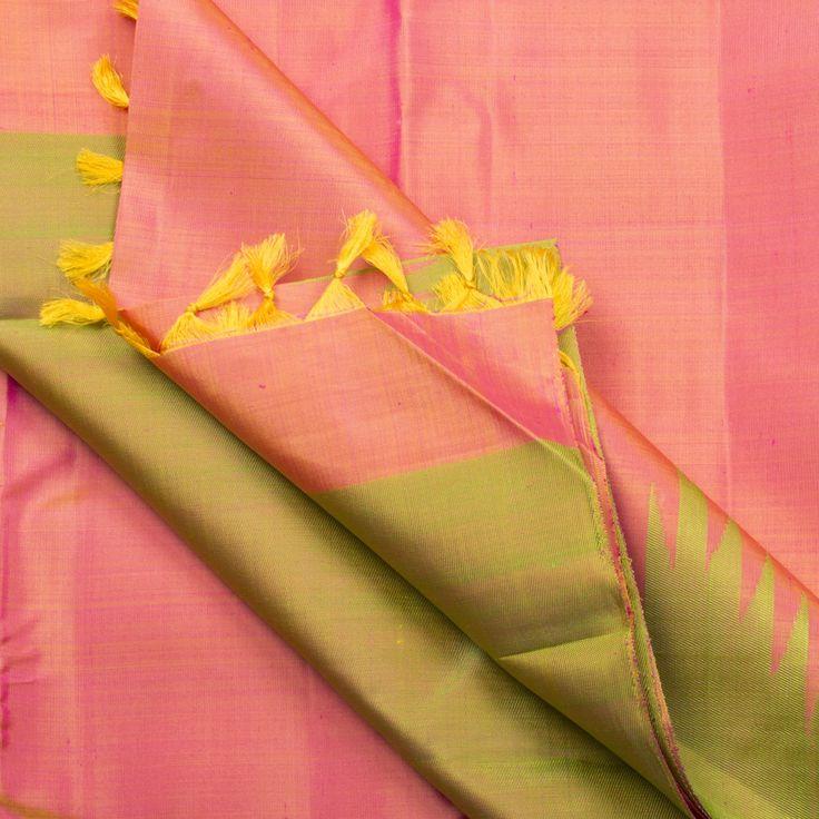 Kanakavalli Handwoven Kanjivaram Silk Sari 001332 - Sari / Kanjivarams - Parisera