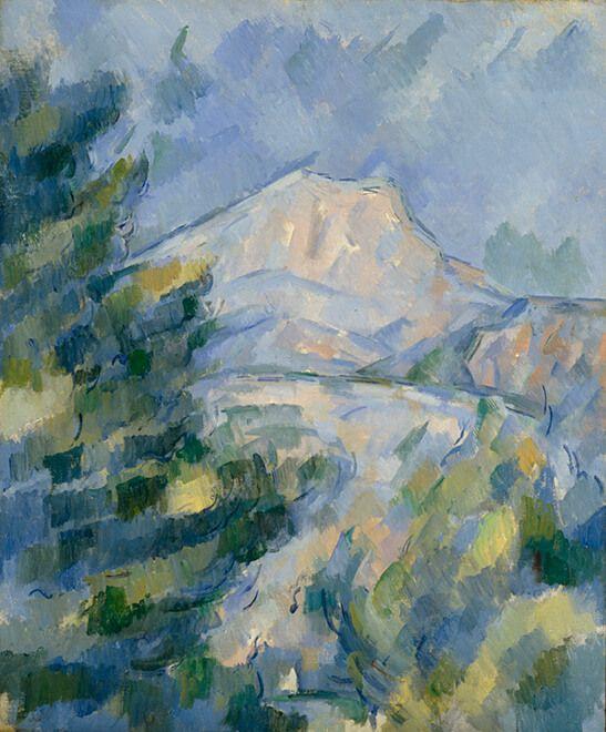 ポール・セザンヌ《サント=ヴィクトワール山》