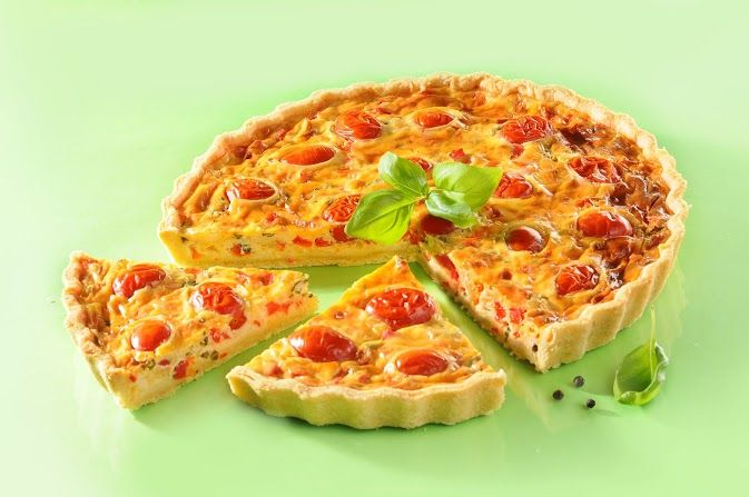 Simple and scrumptious tomato tart recipe with feta that will go down a hit at your next dinner party!