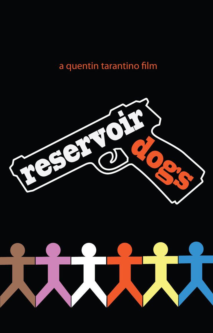 Reservoir Dogs Movie Poster by d-art-studios